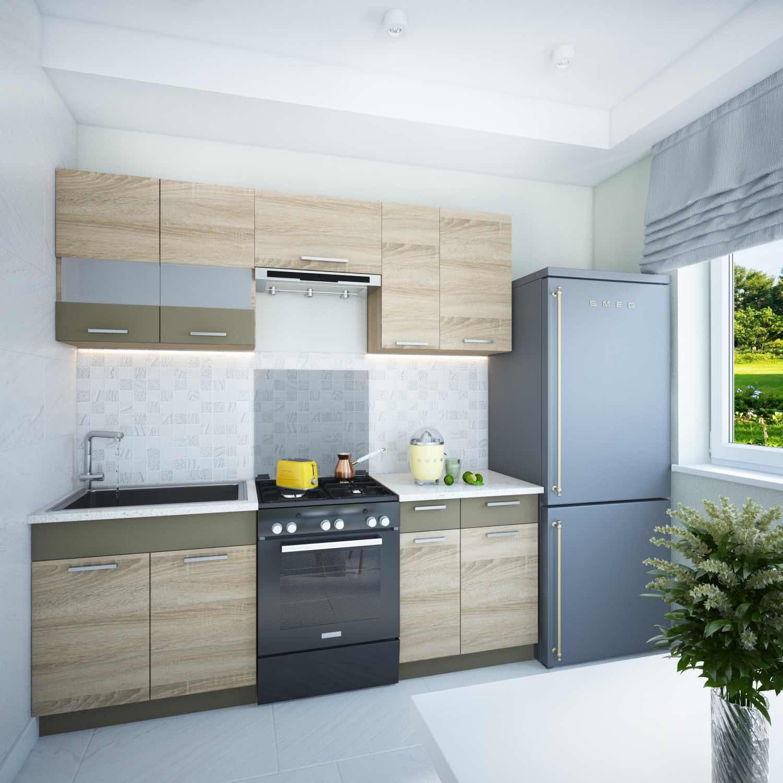 1; 2. Küche ...