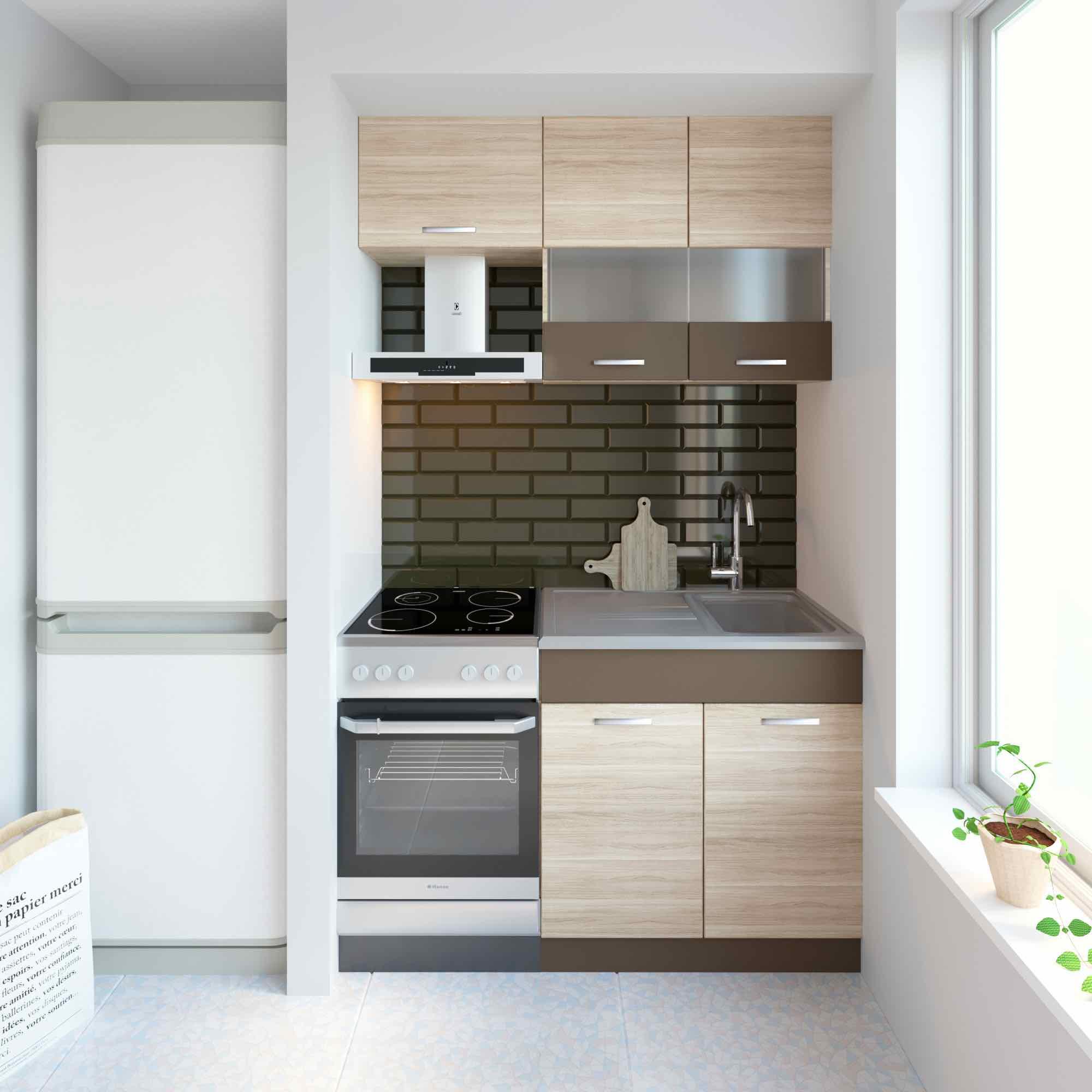 Küche ALINA 130 cm – Möbel DENA