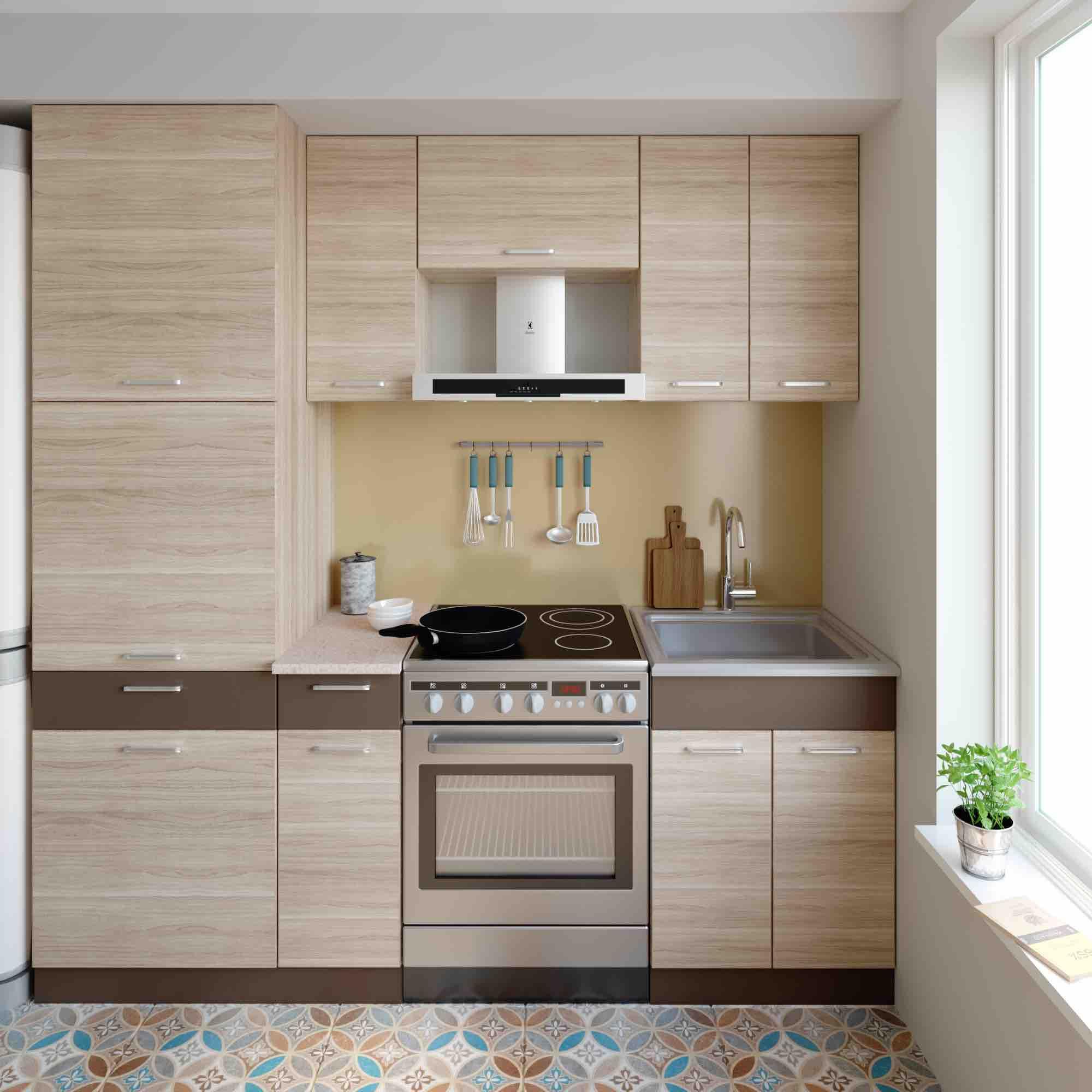 Küche ALINA H 210 cm – Möbel DENA