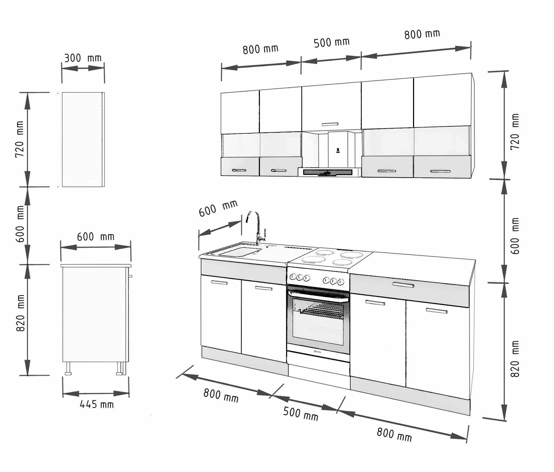 k che alina 210 cm m bel dena. Black Bedroom Furniture Sets. Home Design Ideas