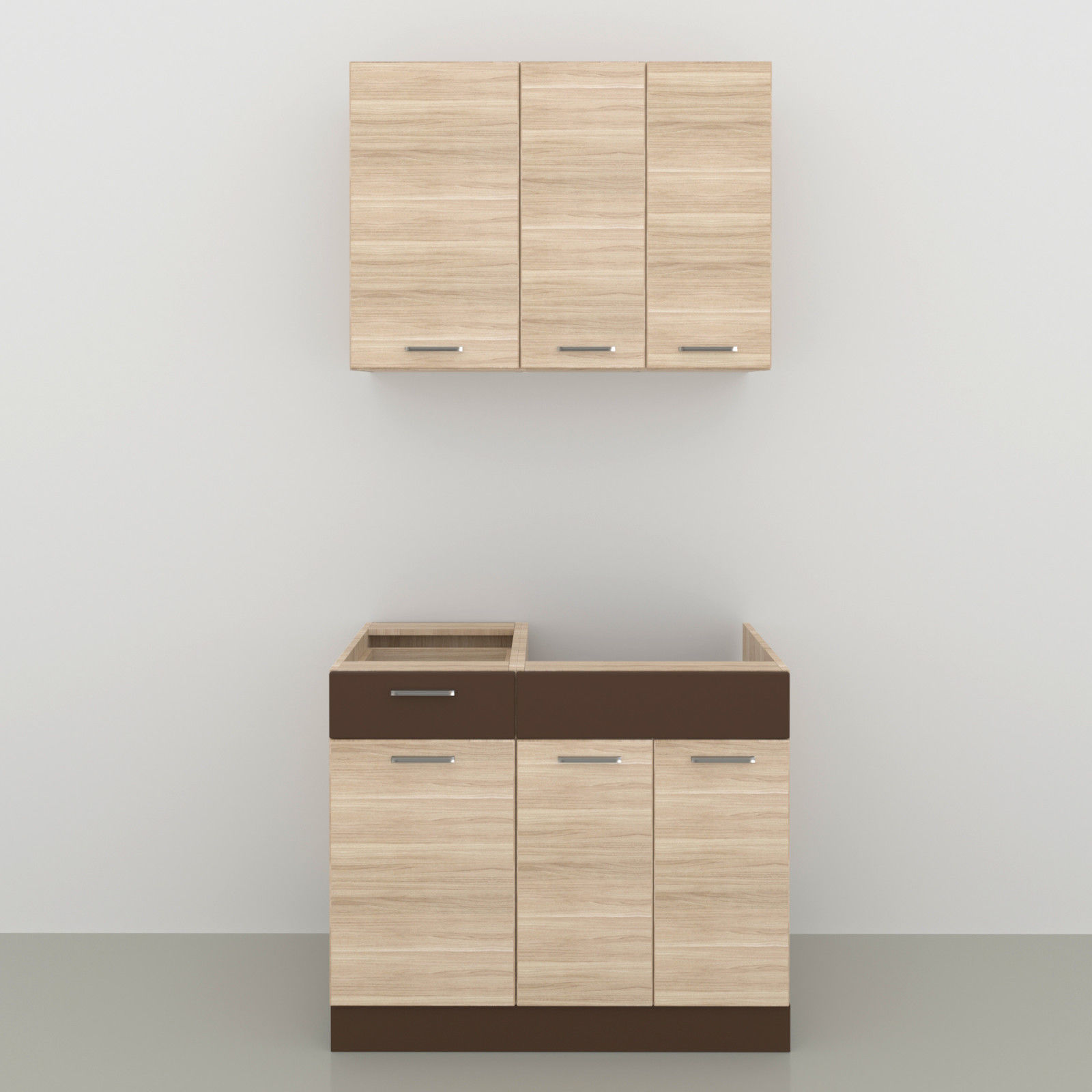 Küche ALINA 100 cm – Möbel DENA