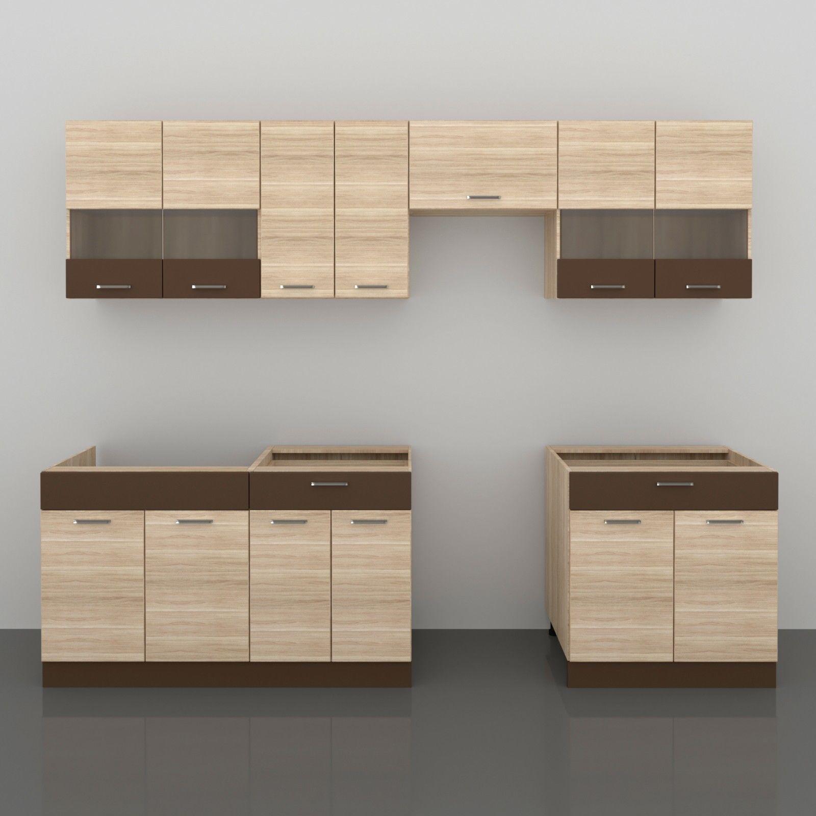 Küche ALINA 280 cm – Möbel DENA