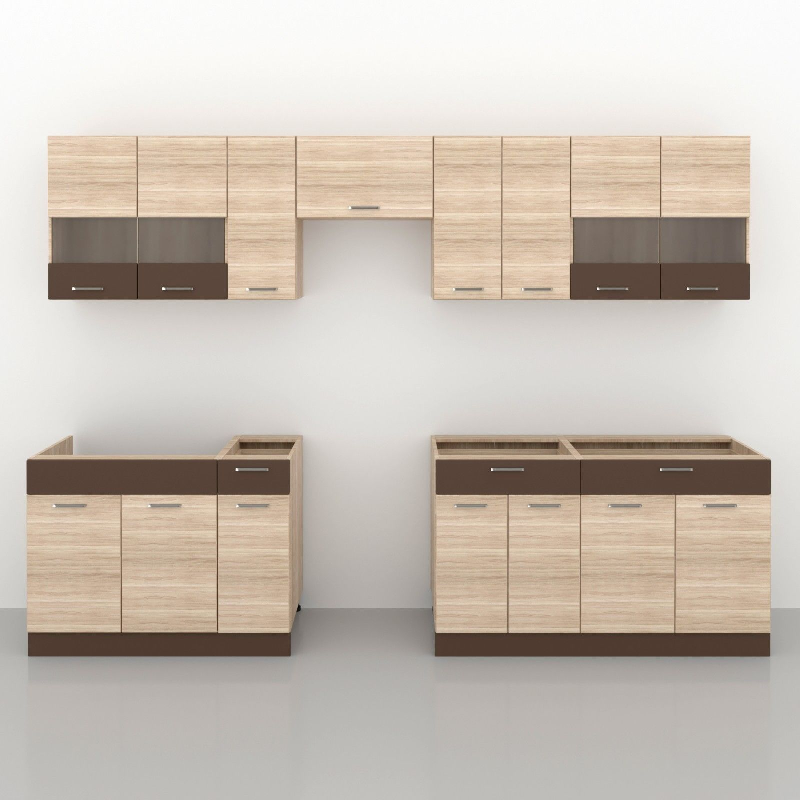 Küche ALINA 310 cm – Möbel DENA