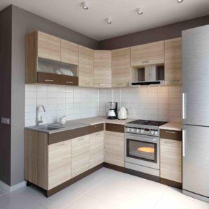 Küche L-Form ALINA 180×190 cm – Möbel DENA