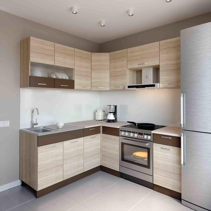 Küche L-Form ALINA 180x200 cm