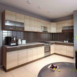 Küche L-Form ALINA 180×350 cm – Möbel DENA