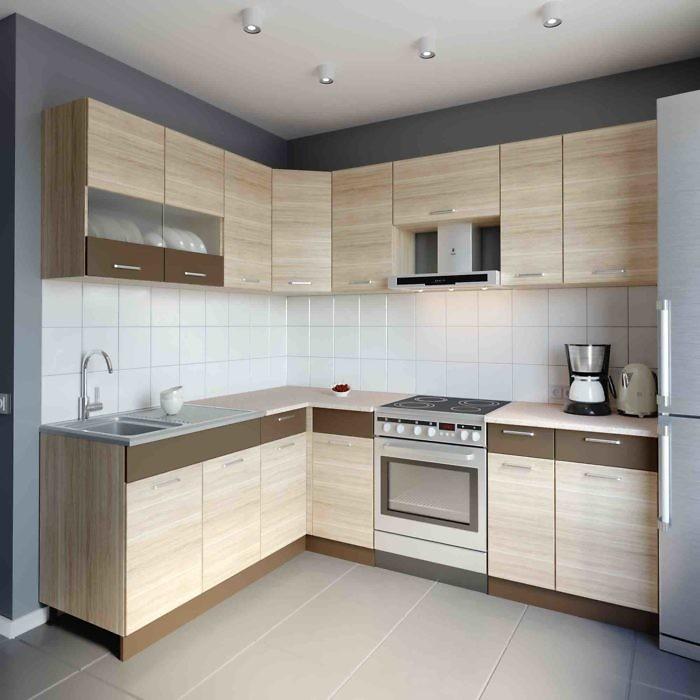 Küche L-Form ALINA 180×230 cm – Möbel DENA