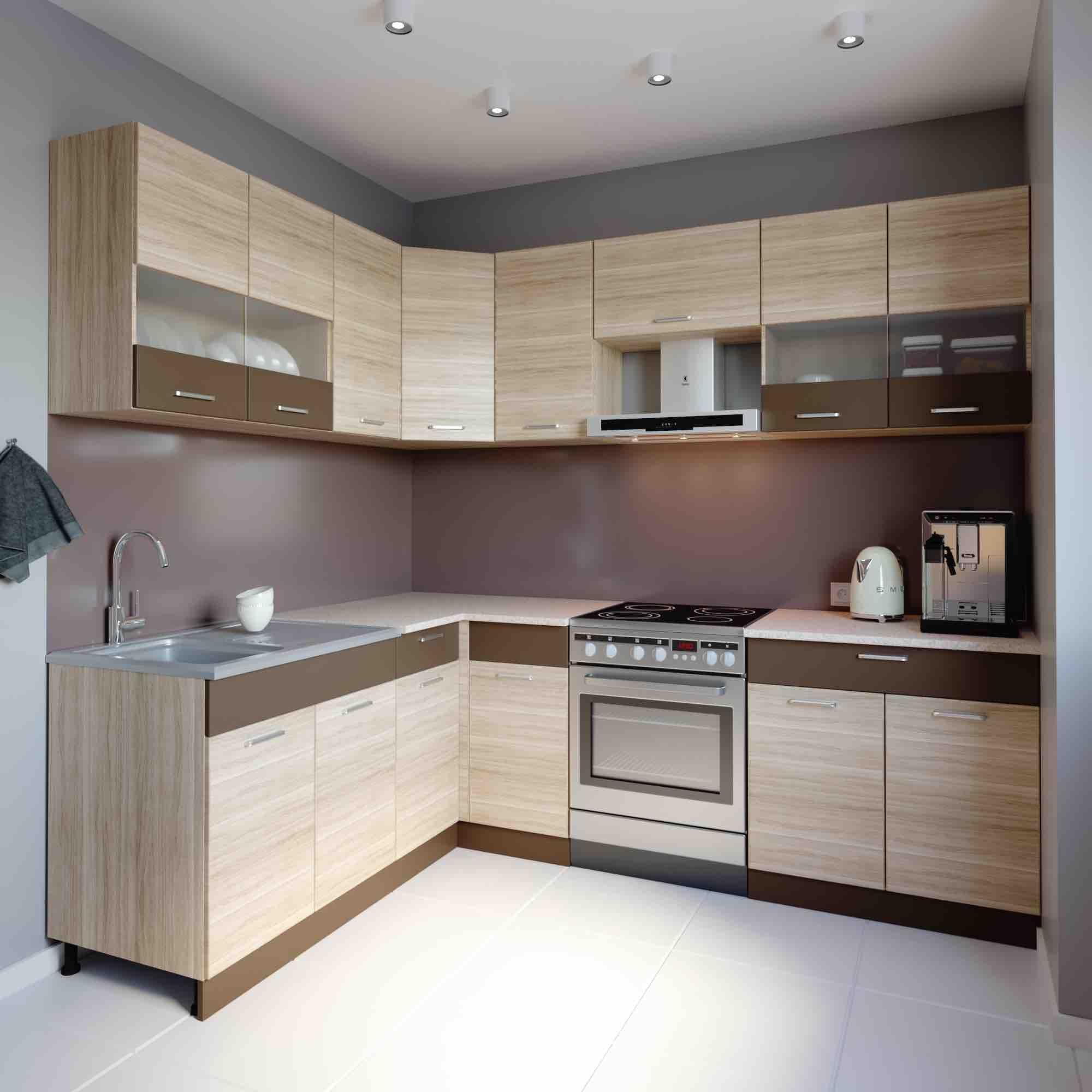 Küche L-Form ALINA 180x240 cm