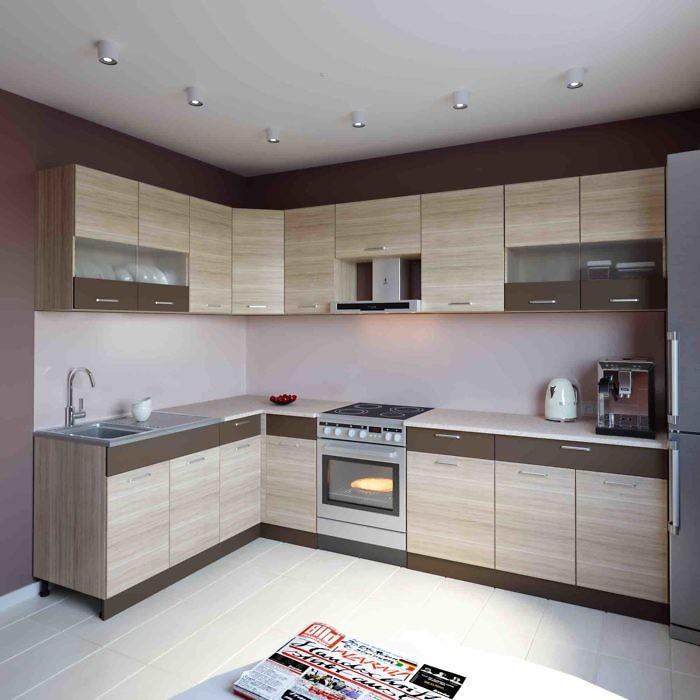 Küche L-Form ALINA 180×290 cm – Möbel DENA