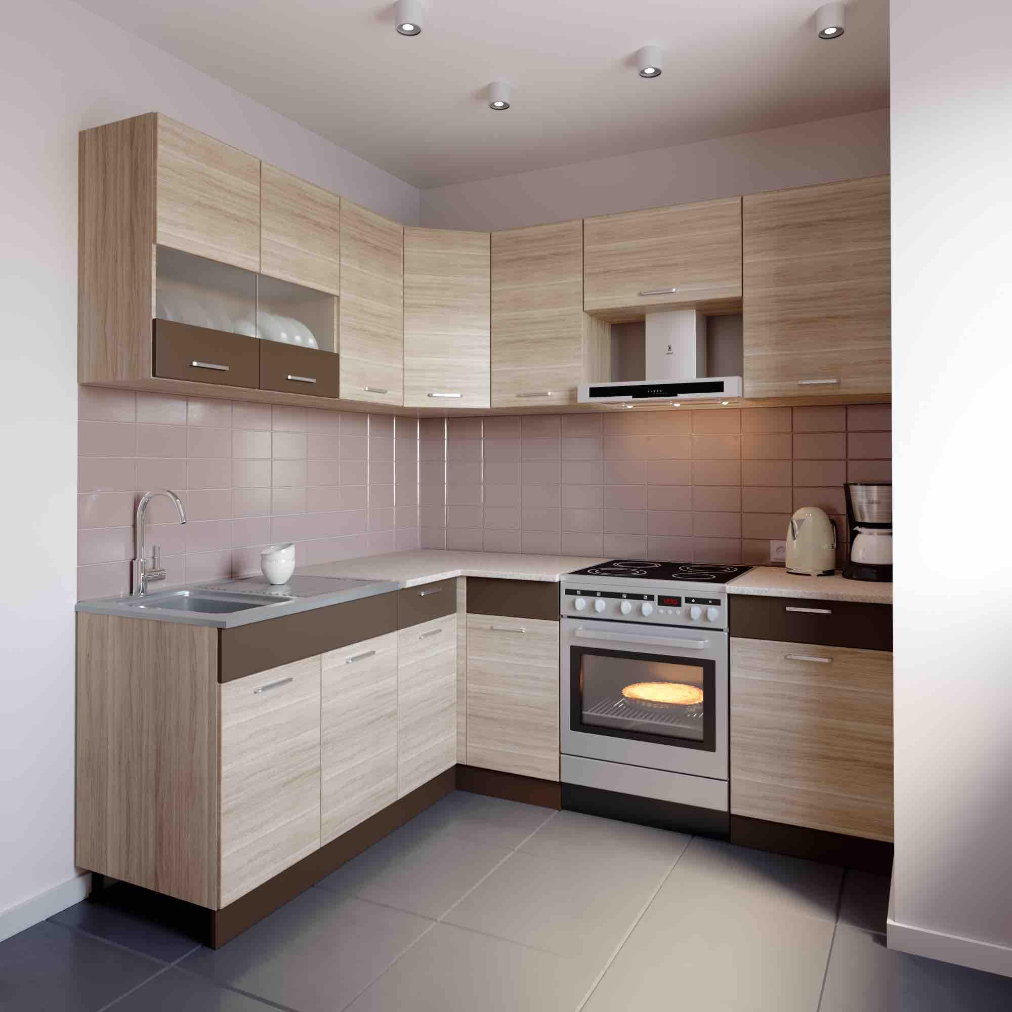 Küche L-Form ALINA 180x210 cm