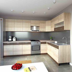 Küche L-Form ALINA 180×310 cm – Möbel DENA